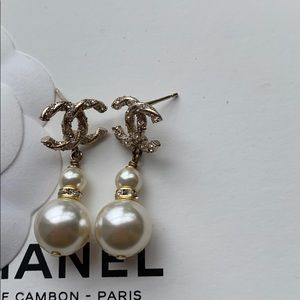100 percent authentic Chanel earrings